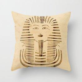 King Tut Version 2 Throw Pillow