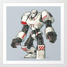 Giant Industrial Robot! Art Print