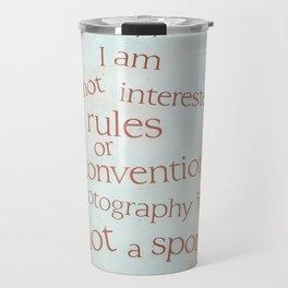 not a sport Travel Mug