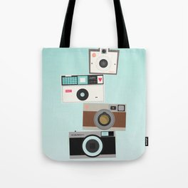 Retro Camera Print  Tote Bag