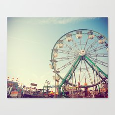 Sunset at the Carnival Canvas Print