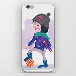Birthday Girl 3 iPhone Skin