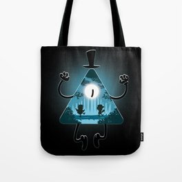Bill is watching you Tote Bag