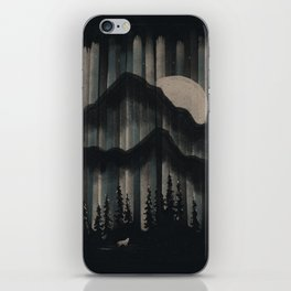 A Wolf in the Night... iPhone Skin