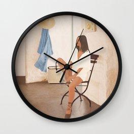 Sunny Glow II Wall Clock