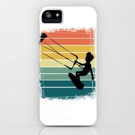 Kitesurfing Windsurfer iPhone Case