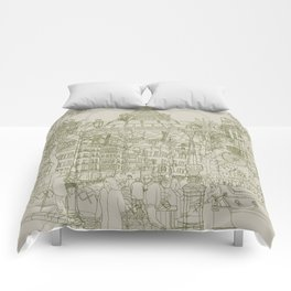 Paris! Musty Comforters