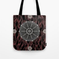 celtic Tote Bags featuring Celtic Pattern by Pepita Selles