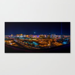 Las Vegas Lights Canvas Print