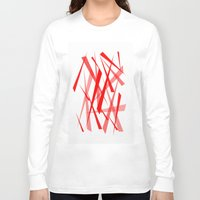 chaos Long Sleeve T-shirts featuring chaos by Sébastien BOUVIER