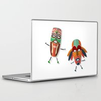 africa Laptop & iPad Skins featuring AFRICA by Rceeh