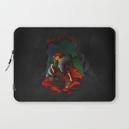 Who's Afraid of Who? Laptop Sleeve