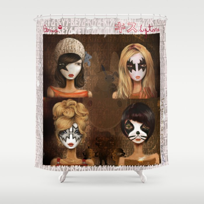 Beso Shower Curtain