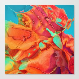 Blossoming into something new Canvas Print