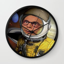 Spaced Wall Clock
