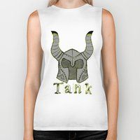 skyrim Biker Tanks featuring Tank by Mallow