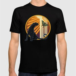 Jaguar Plain Art Deco T-shirt