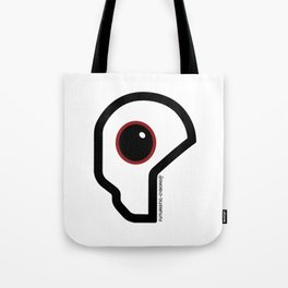 Futuristic Cyborg Logo 11 Tote Bag