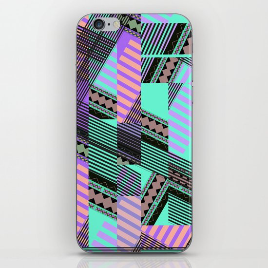 ELECTRIC TUNELS /// iPhone Skin