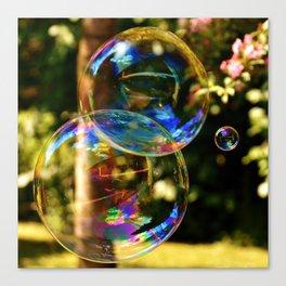 Bubbles | Bulles Canvas Print