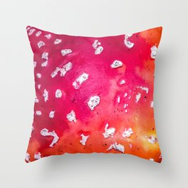 Muscaria Throw Pillow