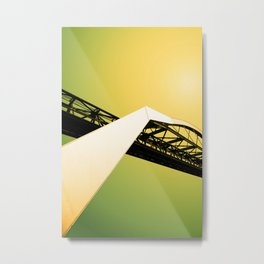 The Tranporter 4 Metal Print
