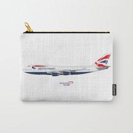 British Airways 747 Carry-All Pouch