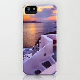 Santorini 24 iPhone Case