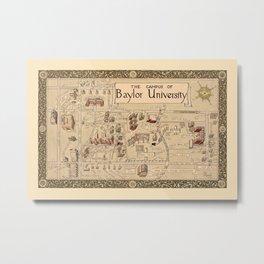 Baylor University 1939 Metal Print