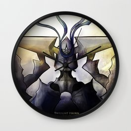 Twilight Thron KH Wall Clock