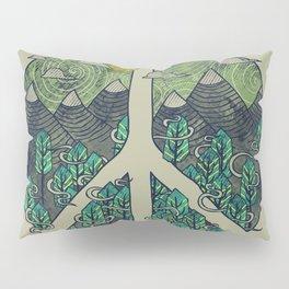 Peaceful Landscape Pillow Sham