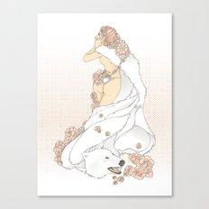 Nouveau Romance Canvas Print