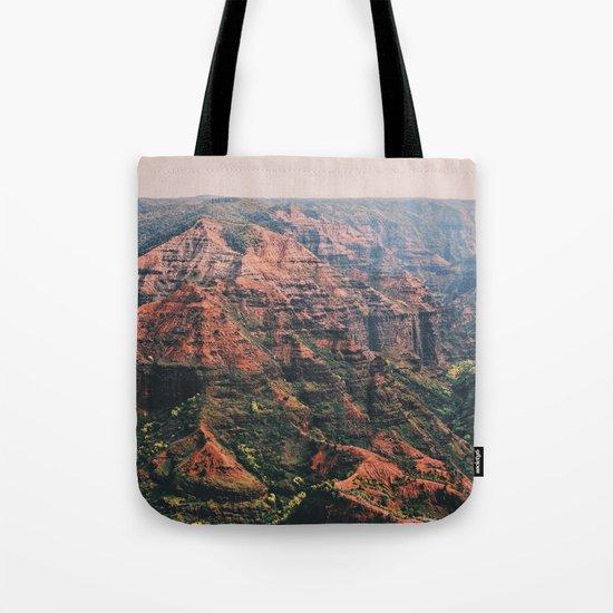 Vintage Hawaii Canyon Tote Bag