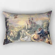 Beauty and the Beast - Tale As Old As Time Rectangular Pillow