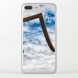 Just Around The Corner Clear iPhone Case