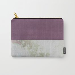 Bit of Brushstroke - Fuschia & Sage Carry-All Pouch