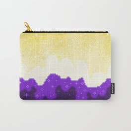 Nonbinary Pride Flag Galaxy Carry-All Pouch