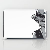 luffy iPad Cases featuring Sad Luffy by cici22