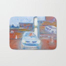 Car Illusion Bath Mat