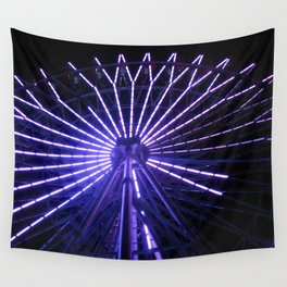 Electric Purple Sapporo Wall Tapestry