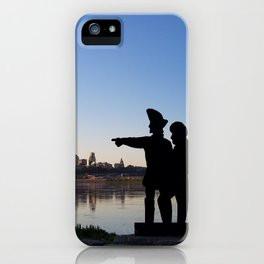 Join the Explorers at Kaw Point iPhone Case