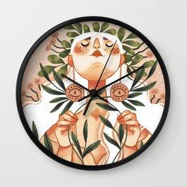 Intertwined Wall Clock