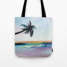 Be Back At Sunset Tote Bag