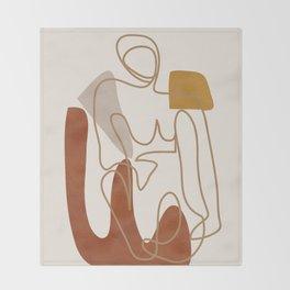 Abstract Art 20 Throw Blanket
