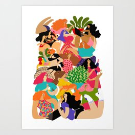 Sexting Art Print