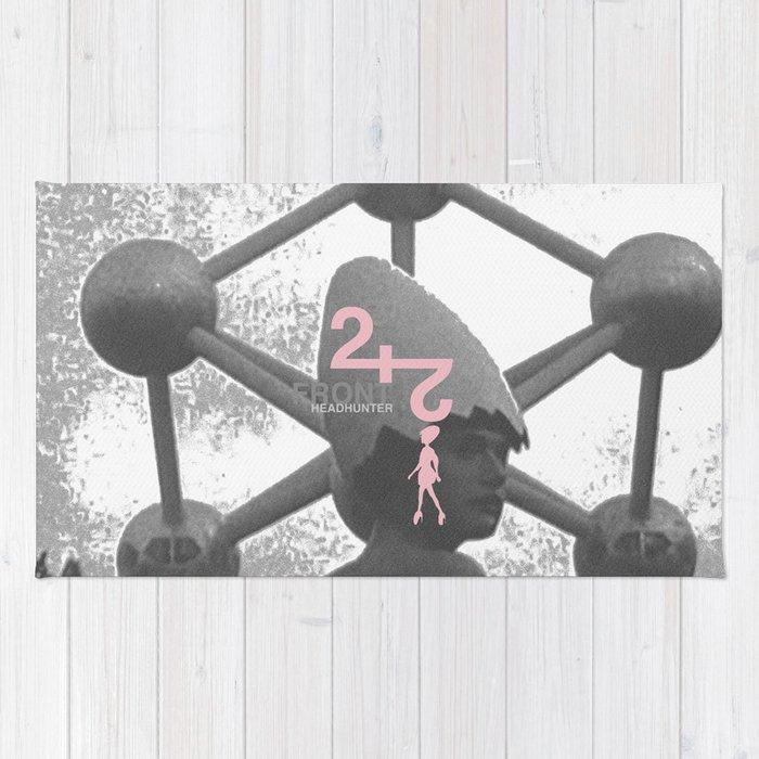 "Front 242 ""Headhunter"" Single Artwork Concept Rug"