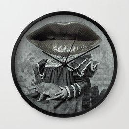 Linda Lippy Lapin Lap Wall Clock