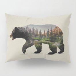 The North American Black Bear Pillow Sham