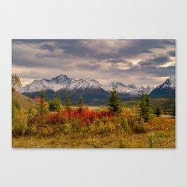 Seasons Turning Canvas Print