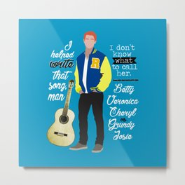Archie Andrews Metal Print